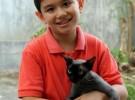 9 letni Ken z Filipin – pomaga bezdomnym zwierzakom