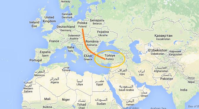 turcja na kontynencie