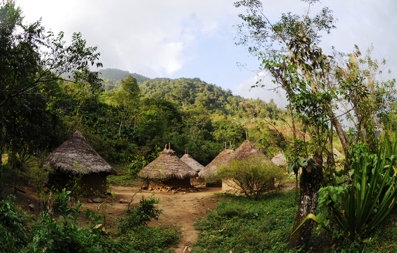 Indianie z Sierra Nevada de Santa Marta