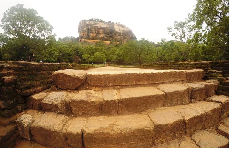 Sigiriya Lwia Skała Sri Lanka