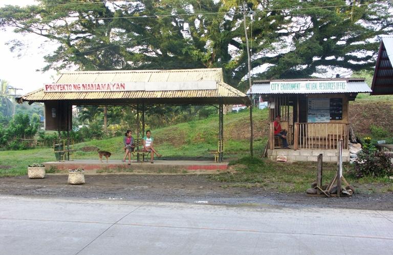 przystanek autobusowy Filipiny