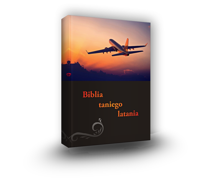 ksiazka biblia taniego latania