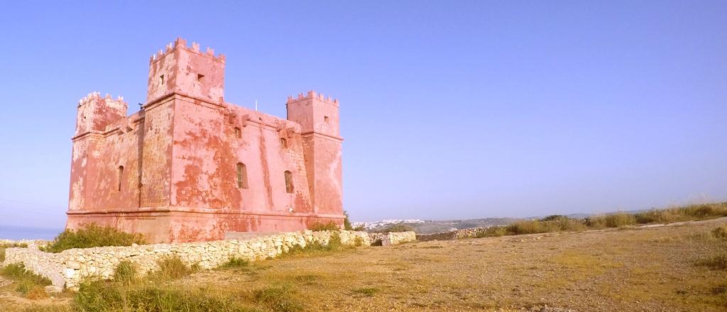 wieża świetej agaty na malcie