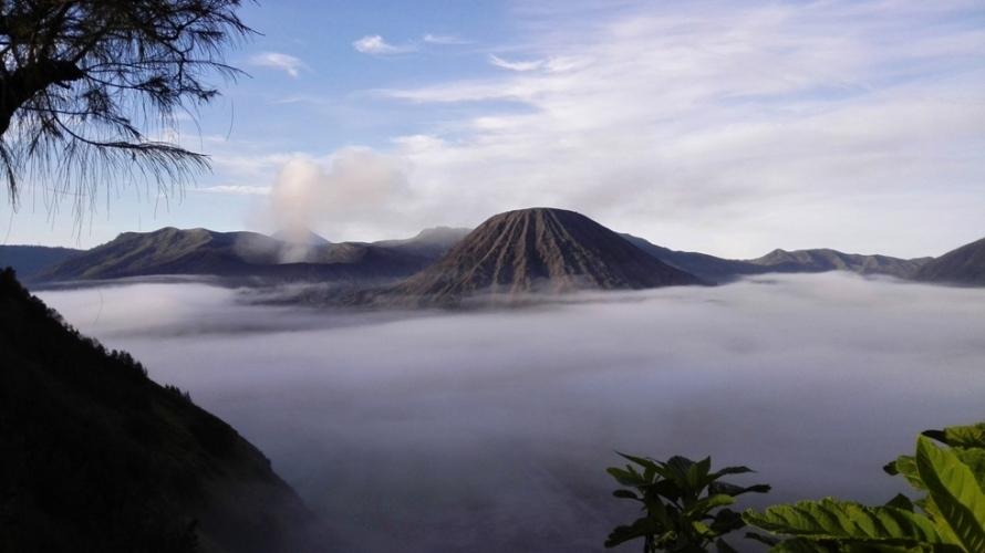 wulkan bromo indonezja jawa