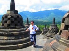 Borobudur Jawa Indonezja