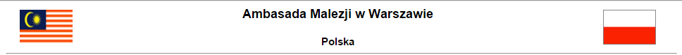 ambasada malezji w polsce