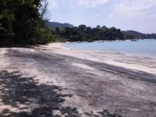 plaża czarny piasek Langkawi